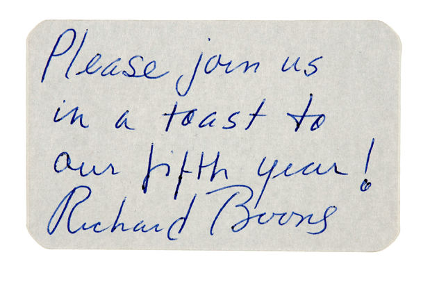 Hakes have gun will travel richard boone signed business card hakes americana collectibles colourmoves