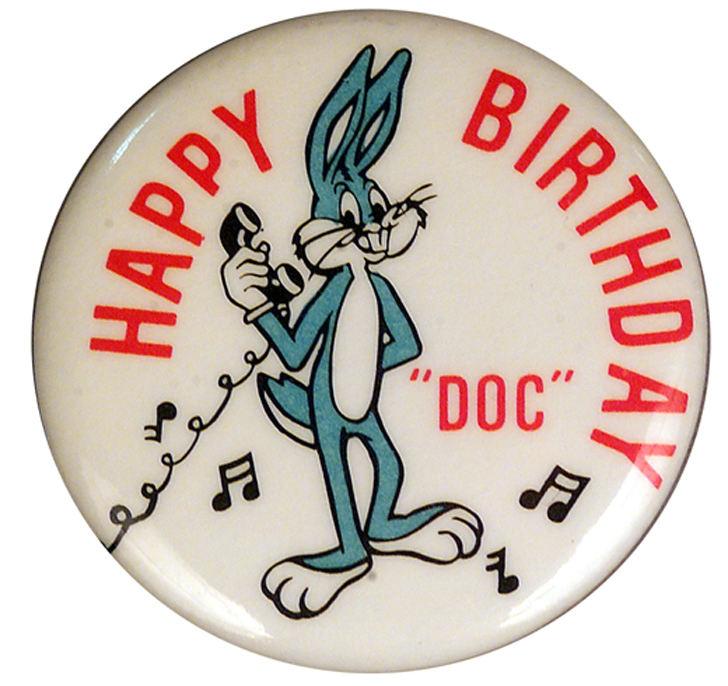 happy birthday doc Hake's   BUGS BUNNY