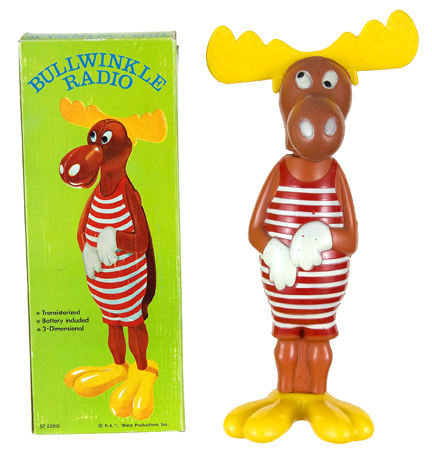 Image result for bullwinkle radio