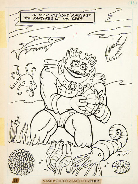 He Man Coloring Page - he man fighting skeletor | All Kids Network | 633x474