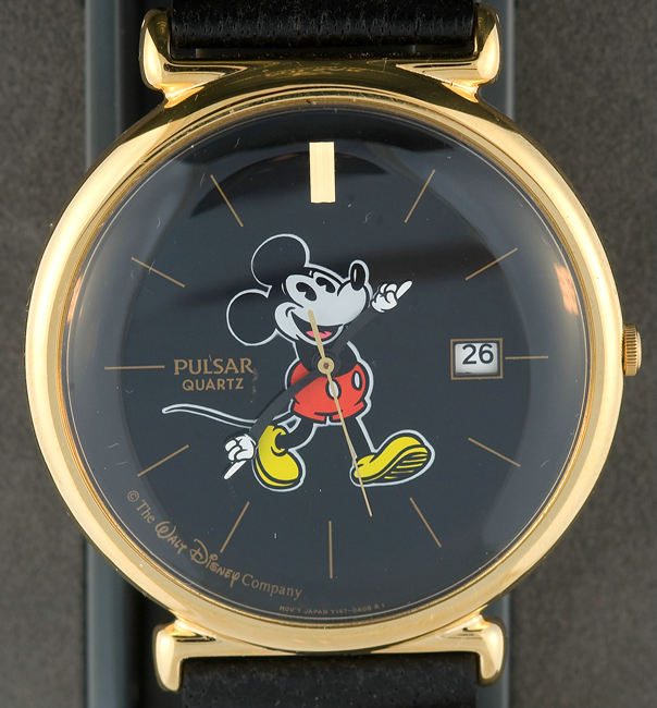"""Hake s - """"PULSAR QUARTZ"""" HIGH QUALITY MICKEY MOUSE WATCH. 51c3992a839"""