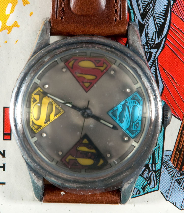 Hakes vintage superman and reign of the supermen watches by hakes americana collectibles freerunsca Choice Image
