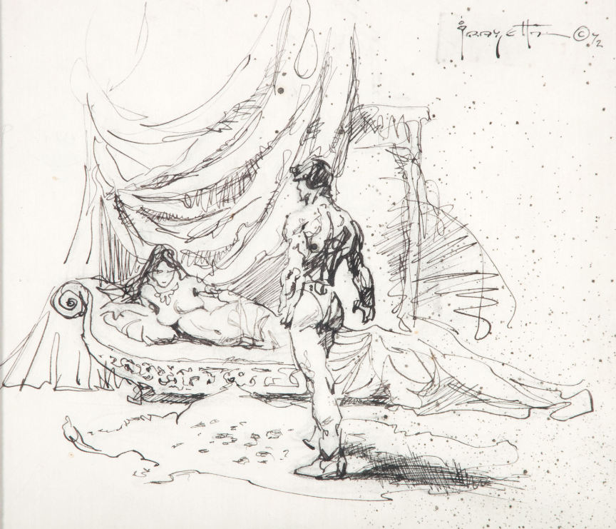 frank frazetta nudes