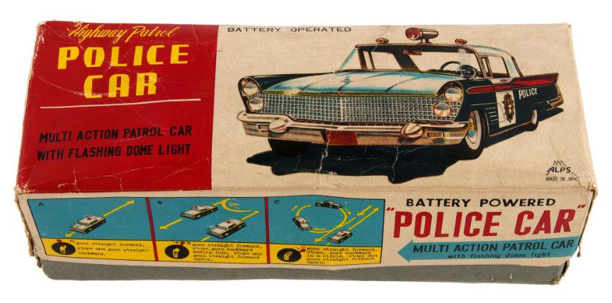 Hake S Alps 1958 Lincoln Continental Mark Iii Highway Patrol