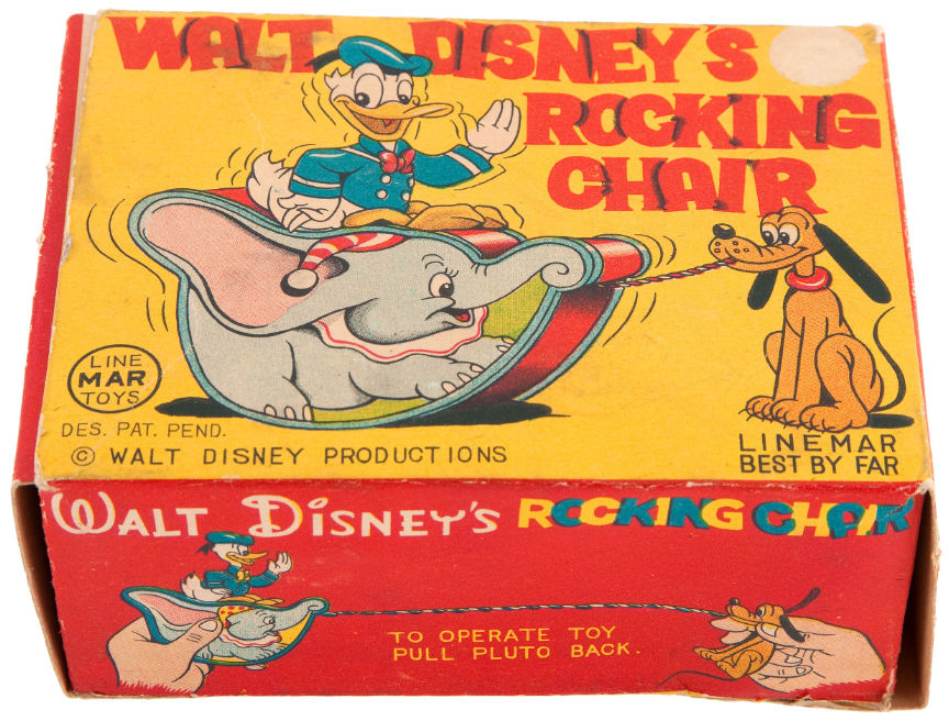 Excellent Hakes Walt Disneys Rocking Chair Boxed Toy With Donald Caraccident5 Cool Chair Designs And Ideas Caraccident5Info