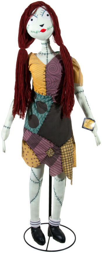 hakes auctions - Nightmare Before Christmas Sally Doll