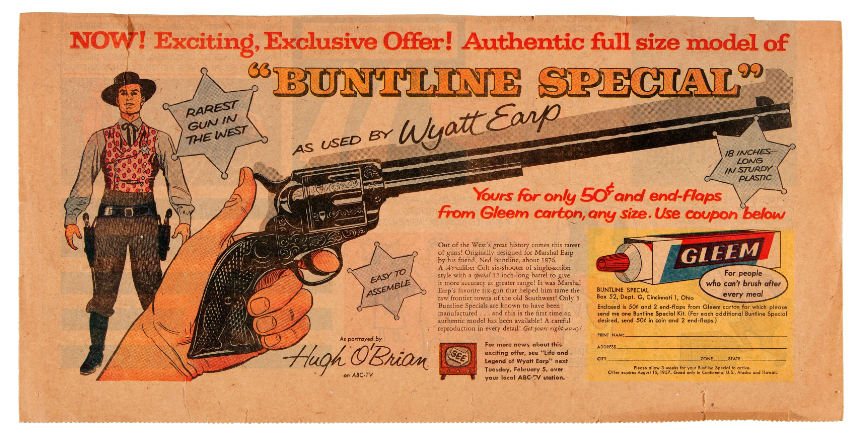 Wyatt earp buntline special for sale