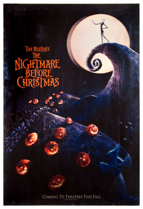 hakes auctions - The Nightmare Before Christmas Poster